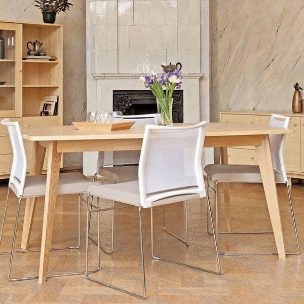 שולחן אוכל KENSAY, עם או בלי הרחבות.