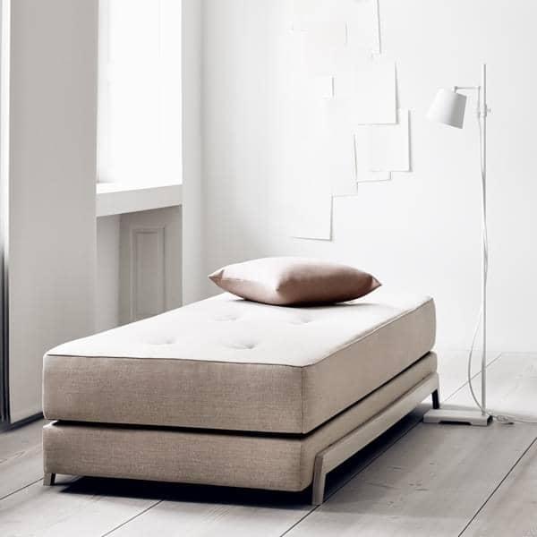 FRAME SOFABED, elegante sofá nórdico - fácil de transformar, fácil de usar, SOFTLINE