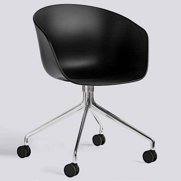 ABOUT A CHAIR ref AAC24 Polypropylene shell optional  : about chair ref aac24 polypropylene shell optional fixed cushion aluminium legs wheels hee from www.my-deco-shop.com size 600 x 600 jpeg 15kB