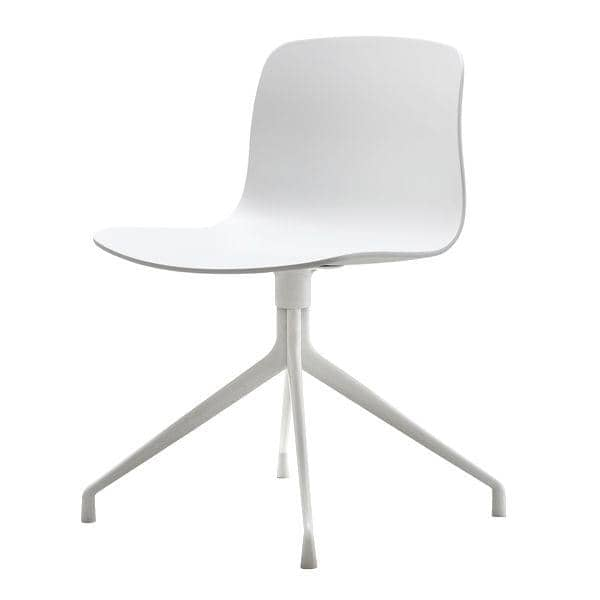 ABOUT A CHAIR - rif. AAC10 e AAC10 DUO - Scocca in polipropilene, gambe in alluminio - HEE WELLING e HAY
