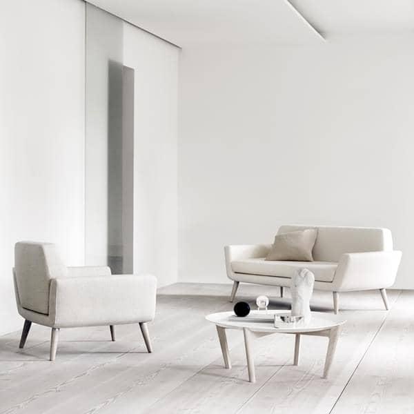 SCOPE, en kompakt og komfortabel sofa, der er designet til små rum - Deco og design, SOFTLINE