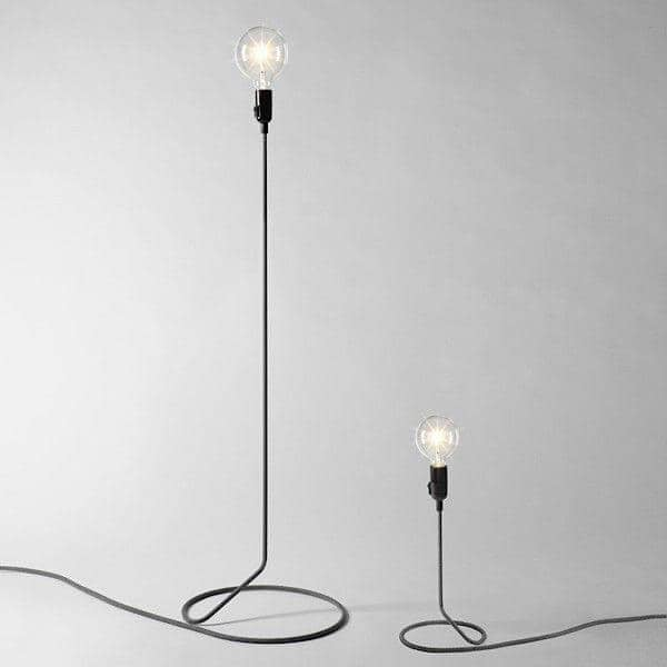 Lovely ... CORD LAMP Table Lamp Transforms The Electric Wire Into Foot Of Standard  Lamp ...