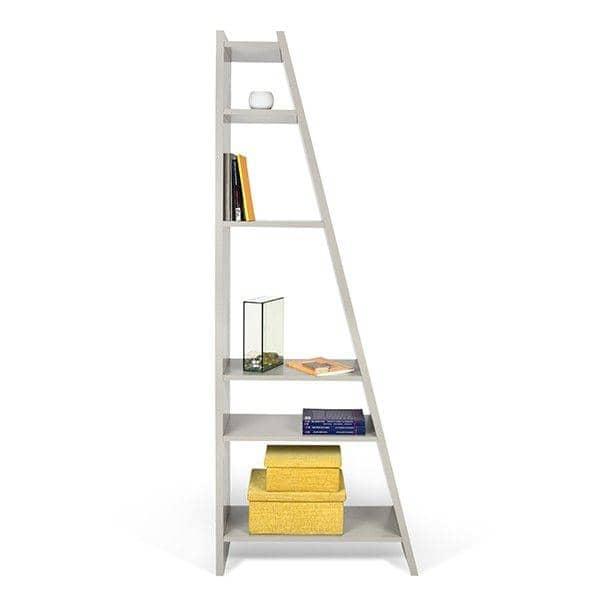 DELTA 1 a 5 columnas estantes, sistema reversible, de madera lacado estera - deco y el diseño, TEMAHOME