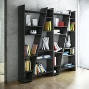 DELTA 1至5列杂志架系列,可逆系统,木垫漆器-装饰与设计, TEMAHOME