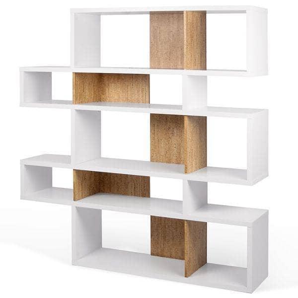 LONDON棚システムは、ゆったりと現代、3次元、いくつかの仕上げオプション、可逆システムです- TEMAHOME