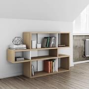 LONDON sistema de prateleiras, é espaçoso e contemporâneo, três dimensões, várias opções de acabamento, sistema reversível - TEMAHOME