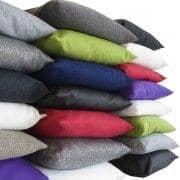 MILAN puter (45 x 45 cm) eller SWING puter (60 x 60 cm) innendørs eller utendørs, en eksepsjonell valg av stoffer og farger - deco og design, SOFTLINE