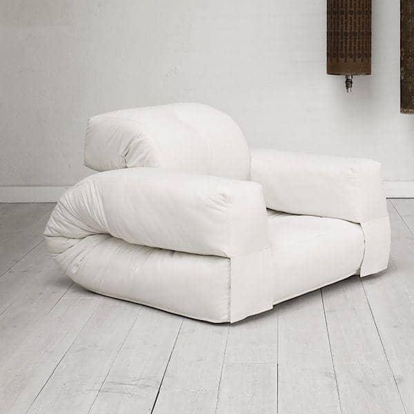 Hippo una poltrona o un divano che si trasforma in un - Poltrona che diventa letto ...