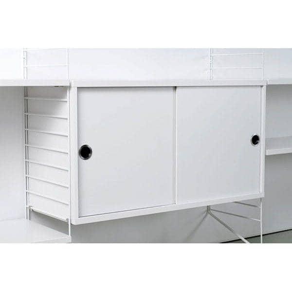 STRING SYSTEM, creare il proprio storage modulare system, dalla A alla Z - Versione originale, progettato e realizzato in Svezia - deco e del design