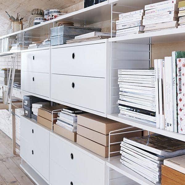 STRING SYSTEM, crear su propio almacenamiento modular system, de la A a la Z - Versión original, diseñado y fabricado en Suecia - deco y el diseño