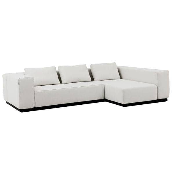 NEVADA VALENCIA fabrics Convertible Sofa 2 or 3 sets Chaise