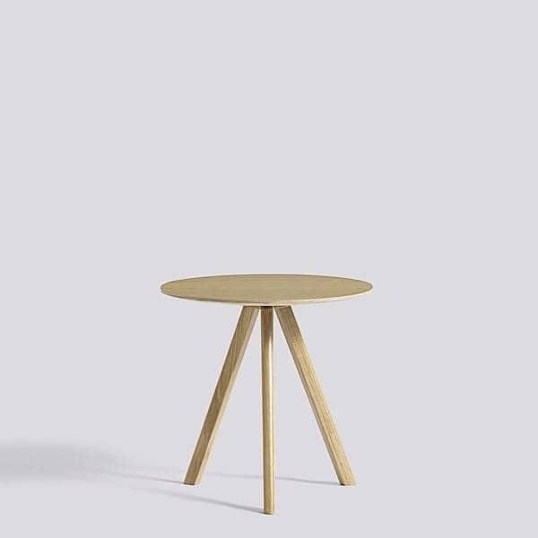 el copenhague mesa redonda cph y chp hecho en madera maciza y madera