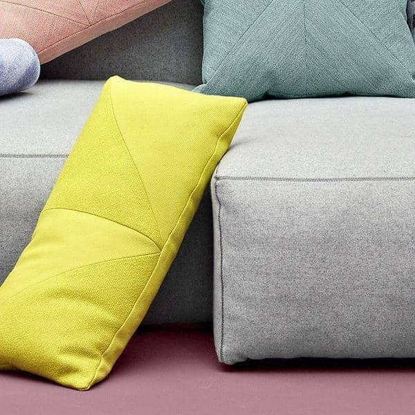 MAGS SOFA SOFT, con costuras invertidas, unidades modulares, telas y pieles: crea tu propio sofa, HAY