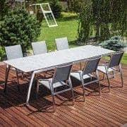 Esstisch, ALCEDO FORNIX F1 von TODUS, zeitlos, robust, TODUS Linien, mit oder ohne Verlängerung: perfekt für den Einsatz auf der Terrasse oder in Ihrem Wohnzimmer