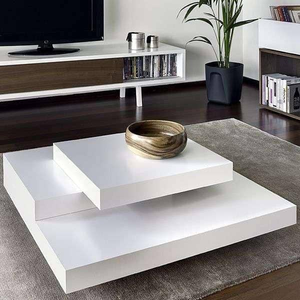 SLATE, sofabord: Betonen effekt med fleksibiliteten i letvægtsmaterialer - designet af IN eS MARTINHO
