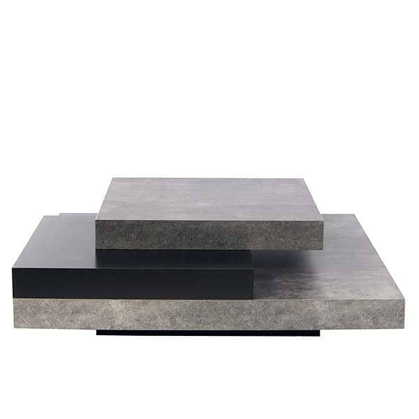 SLATE, coffee table : The concrete effect with the flexibility of lightweight materials