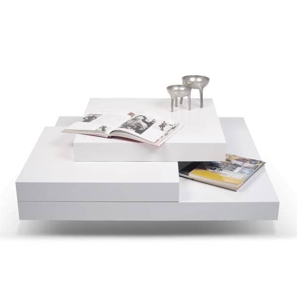 SLATE, tavolino: L'effetto concreto con la flessibilità di materiali leggeri - progettato da IN ES MARTINHO