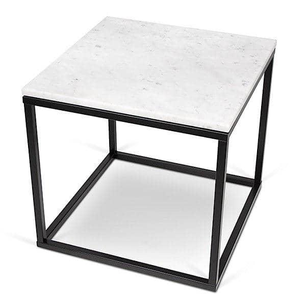Avanceret PRAIRIE, sofabord og sidebord, finer træ eller marmor, TEMAHOME QO86