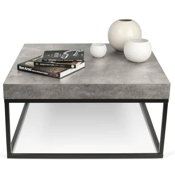 petra couchtisch und beistelltisch beton und stahl temahome. Black Bedroom Furniture Sets. Home Design Ideas