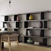 STEP, shelves: 2 heights for multiple uses - designer: TEMAHOME