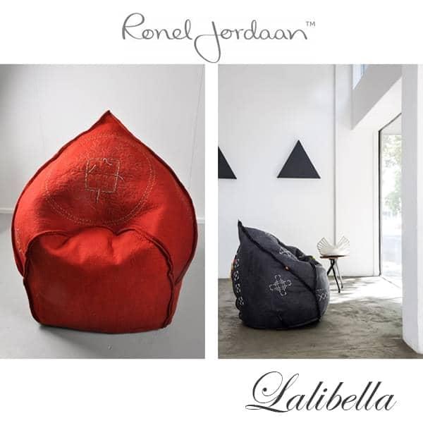LALIBELLA, un fauteuil exceptionnel en Laine Mérinos, fait main en Afrique du Sud - 100% écologique, déco et design équitable, design Ronel Jordaan