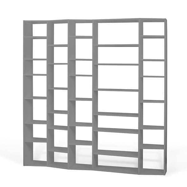 VALSA, système d'étagères intelligemment conçu, l'asymétrie de la façade est une véritable innovation - designer : NADIA SOARES