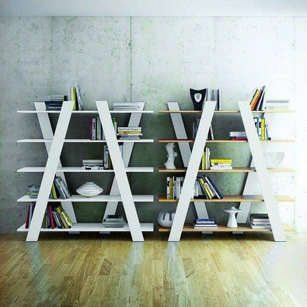 WIND, étagère légère comme le vent, associez-les pour créer un mur qui a du rythme ! - designer : RICARDO MARÇAL