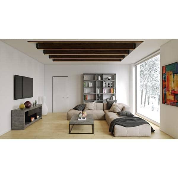 NARA, TV mesa que encontra seu lugar contra uma parede ou no meio da sala de estar, também disponível no aspecto concreto - projetado por TEMAHOME