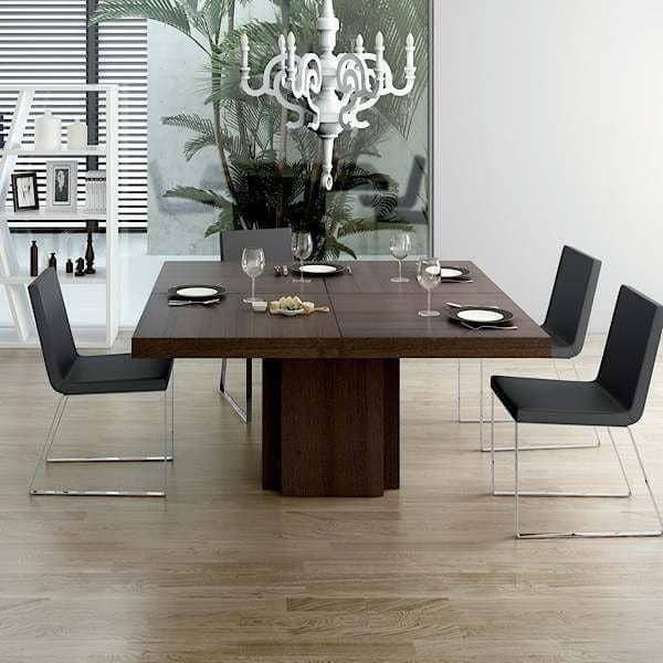 Dusk mesa de comedor cuadrada 130 o 150 cm temahome for Mesas de comedor cuadradas grandes