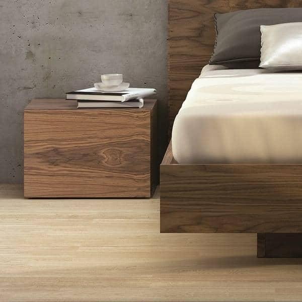 FLOAT, mesa de noche, con 1 cajón, TEMAHOME