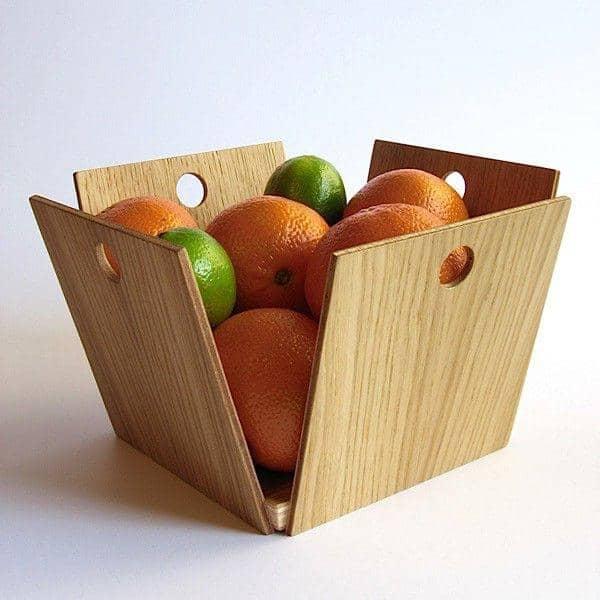 12 pommes corbeille fruits contreplaqu de ch ne reine m re. Black Bedroom Furniture Sets. Home Design Ideas