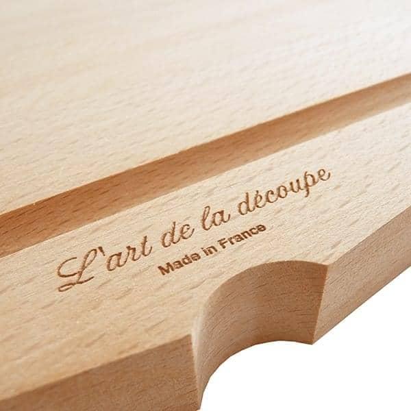 l'Art de la découpe, planche à découper, hêtre massif, design éco-responsable
