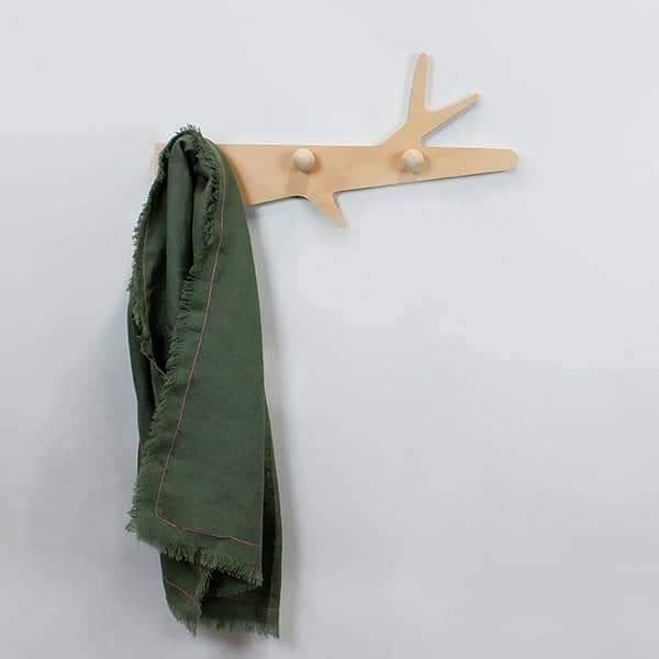 LA BRANCHE, coat rack, beech plywood, eco-design