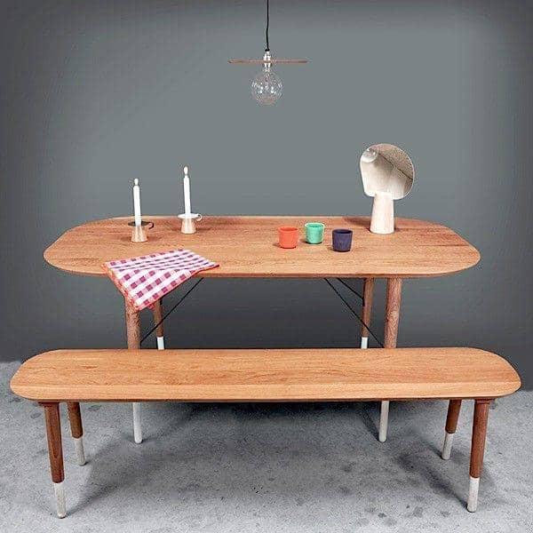 banc hepburn ch ne massif reine m re. Black Bedroom Furniture Sets. Home Design Ideas