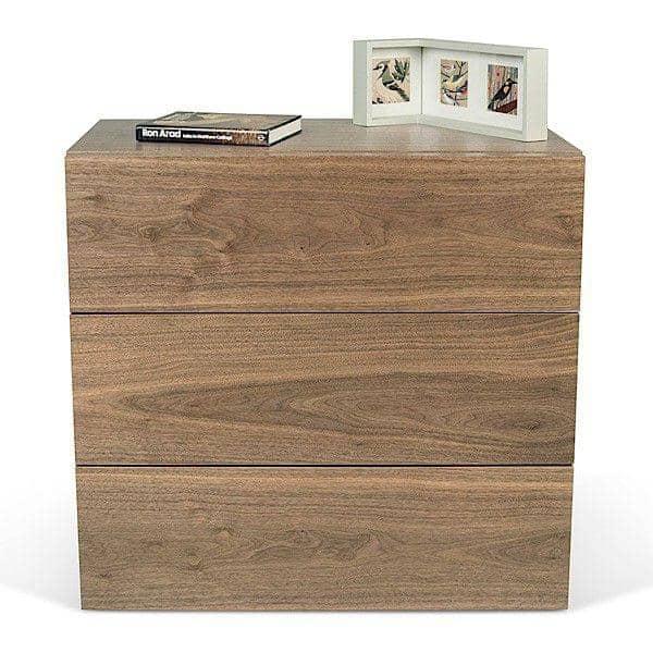 AURORA, cómoda de 3 cajones, generosa y de diseño, disponible en diferentes acabados