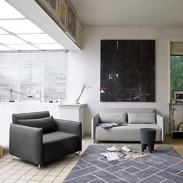 cord ein schlafsofa ein cabrio sessel softline. Black Bedroom Furniture Sets. Home Design Ideas