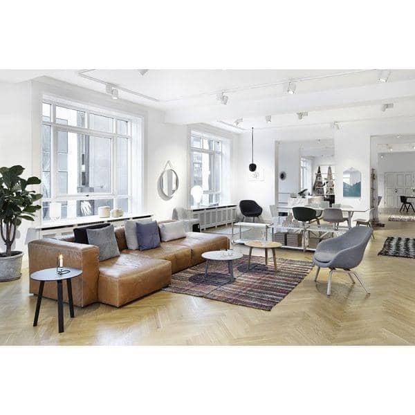 MAGS SOFA SOFT, moduler i læder, inverterede sømme, lav din egen sofa, HAY