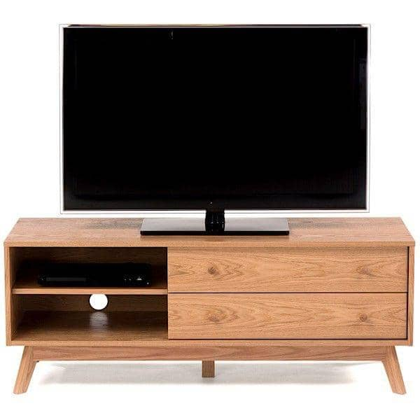 meuble tv kensay 130 x 45 x 50 cm en ch ne leonhard pfeifer. Black Bedroom Furniture Sets. Home Design Ideas