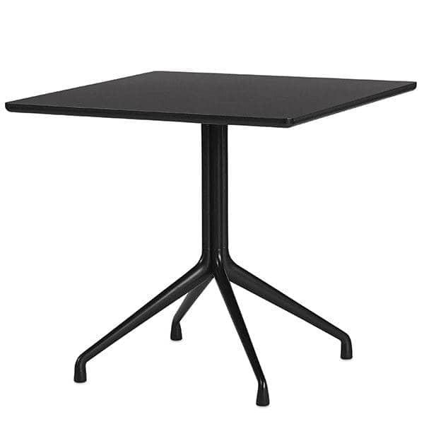 AAT15 مربع طاولة الطعام، والخشب الرقائقي، والساقين الألومنيوم، HAY.