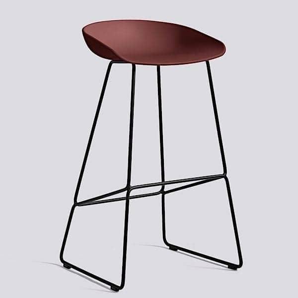 tabouret de bar about a stool r f aas38 hay. Black Bedroom Furniture Sets. Home Design Ideas
