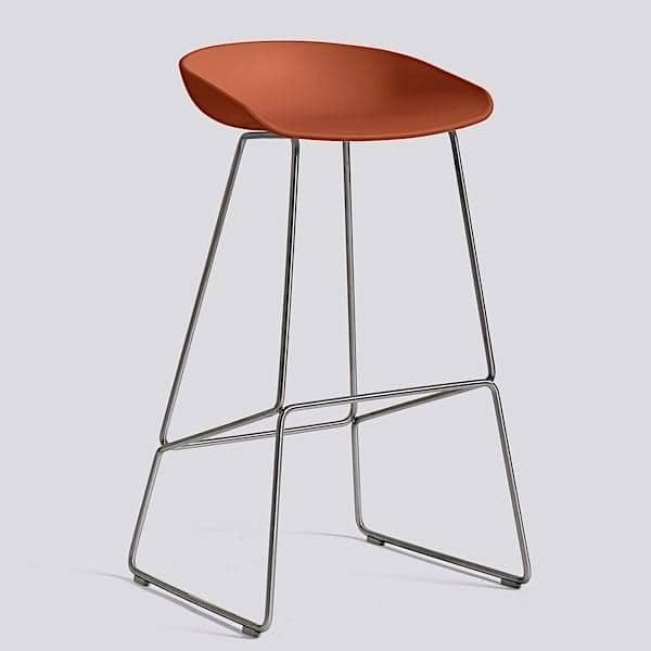 ABOUT A STOOL by HAY - ref. AAS38 - Steel base, polypropylene shell - HEE WELLING, HAY