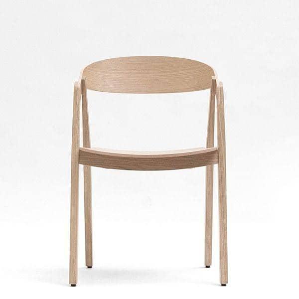 Nardo silla de madera apilable materiales naturales maigrau for Sillas para quincho apilables