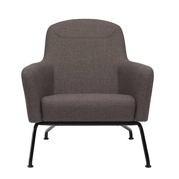 HAVANA, fauteuil avec piétement en acier