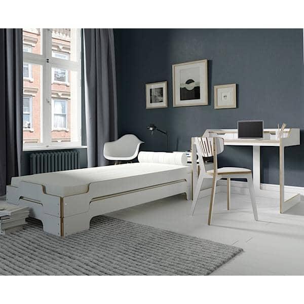 Stabelbar seng STACK af ROLF HEIDE siden 1967, et tidløst koncept, extrem komfort og en ren og moderne linie.