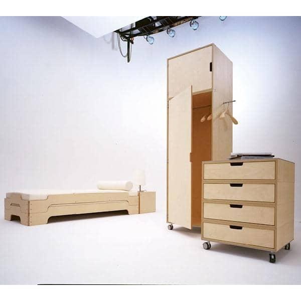 Empilhável cama STACK por ROLF HEIDE desde 1967, um conceito atemporal, conforto extrem e uma linha pura e moderna.