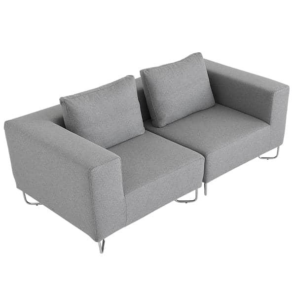 divano: combinare il modulo base, l\'angolo ed i pouf per creare il ...