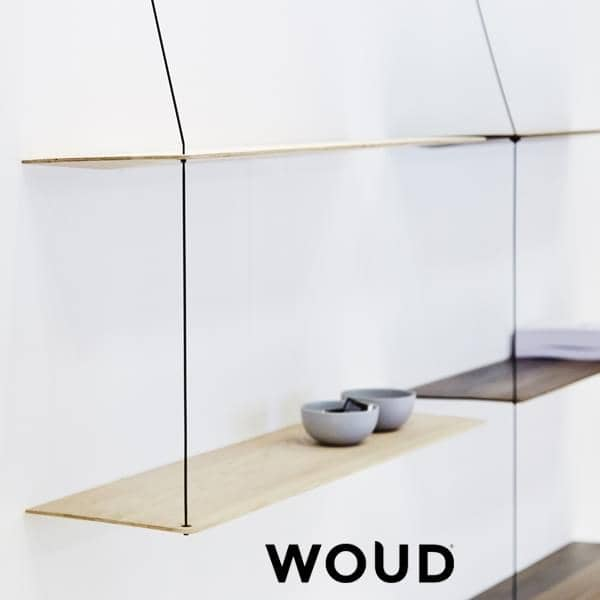 STEDGE, ein minimalistisches Regalsystem