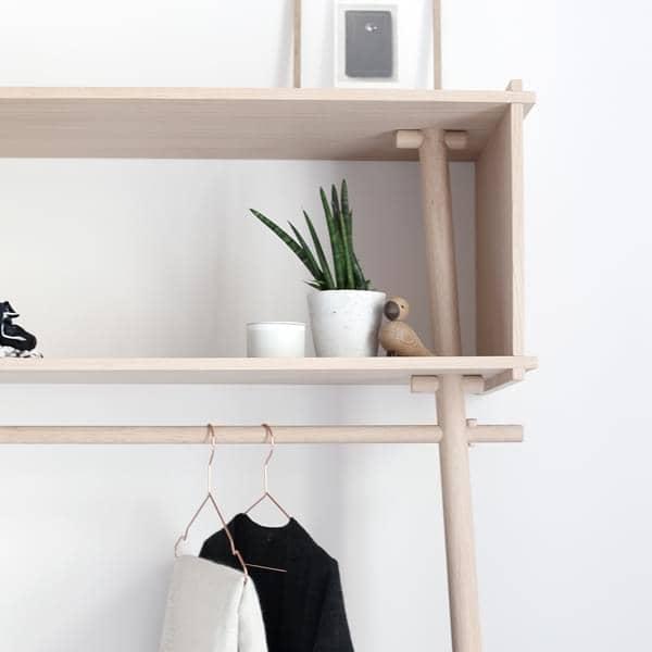 t jbox porte manteau en bois co design woud. Black Bedroom Furniture Sets. Home Design Ideas