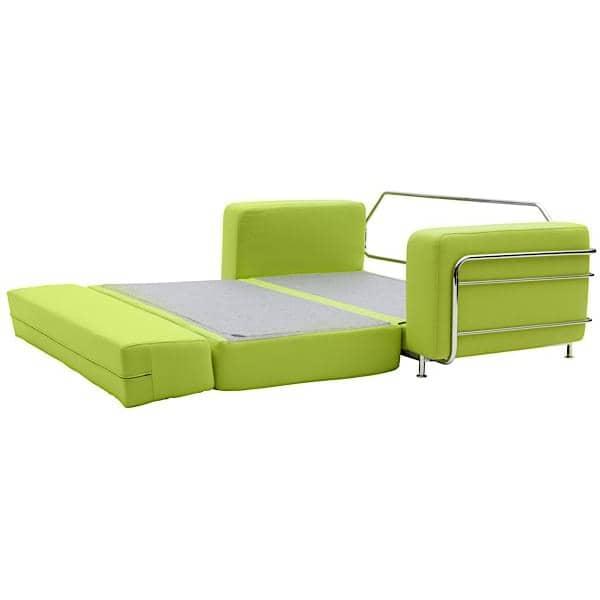 silver eine schlafcouch f r 2 f r kleine r ume bequem zeitlosen. Black Bedroom Furniture Sets. Home Design Ideas