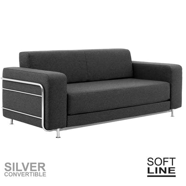 Silver un divano letto per 2 softline - Divano letto scandinavo ...